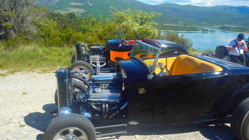 C3,Rods et Mustang au bord du lac et pique-nique entre amis P5080120