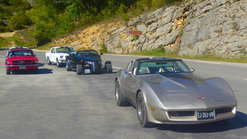 C3,Rods et Mustang au bord du lac et pique-nique entre amis P5080217