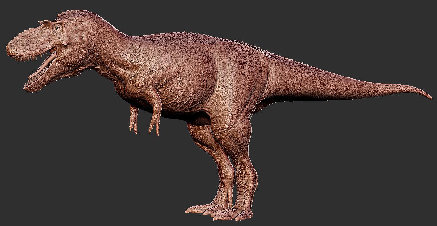 Albertosaurus 3D Model Art Albert11