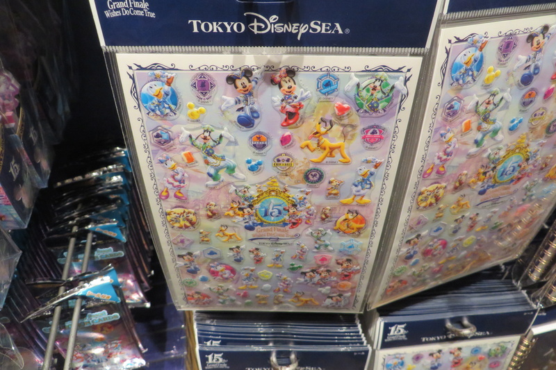 """[Tokyo DisneySea] : 15th anniversary """"The Year of Wishes"""" merchandising Img_2023"""