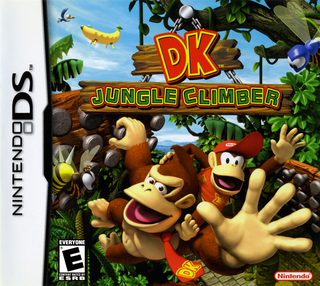 [DS] Donkey Kong Jungle Climber Portad10