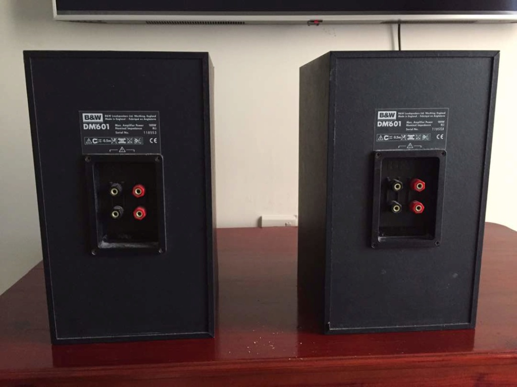 Audiolab 8000A Integrated Amp + Bowers & Wilkins DM 601 S1 Whatsa16