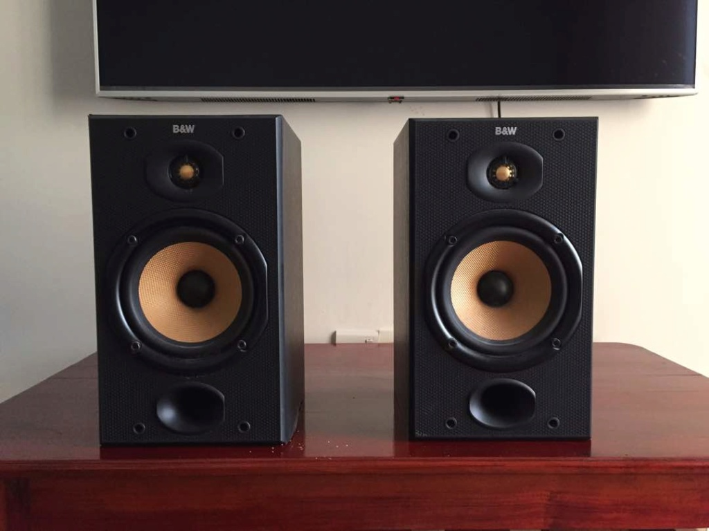 Audiolab 8000A Integrated Amp + Bowers & Wilkins DM 601 S1 Whatsa18