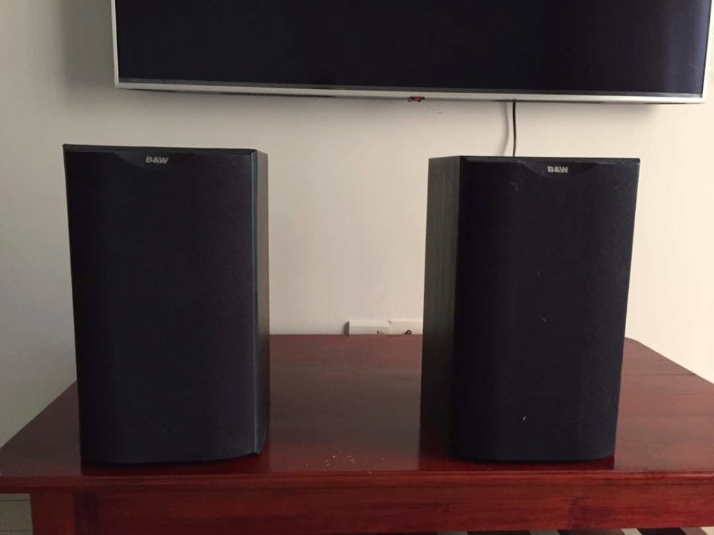 Audiolab 8000A Integrated Amp + Bowers & Wilkins DM 601 S1 Whatsa19