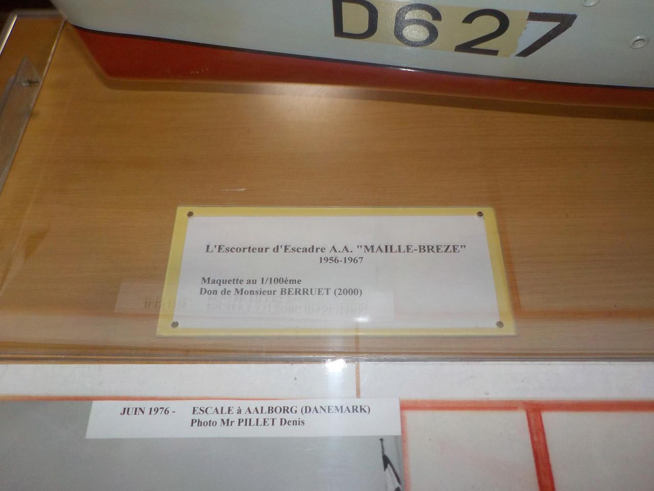 Escorteur d'escadre Maillé Brézé à Nantes - Page 2 Dscn1649
