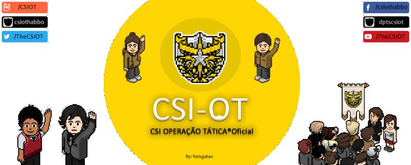 CSI OPERAÇÃO TÁTICA