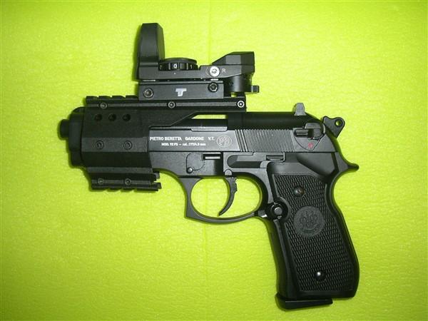 beretta 92 fs sniper grey avec red dot walther  Imgp0011