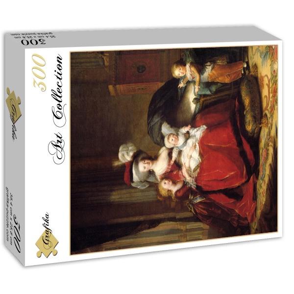 Déclinaisons faites d'après le portrait de Marie Antoinette et ses enfants de Vigée Lebrun Louise10