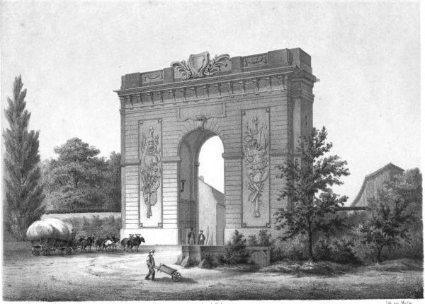 11 mai 1770: Marie-Antoinette est à Châlons-sur-Marne Porte_10