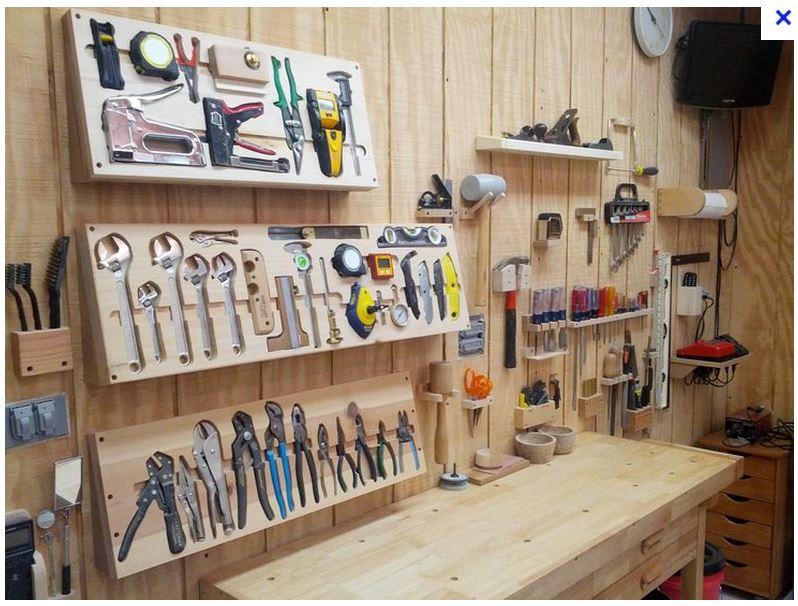 Rangement clés plates et à pipes dans l'atelier Rangem10