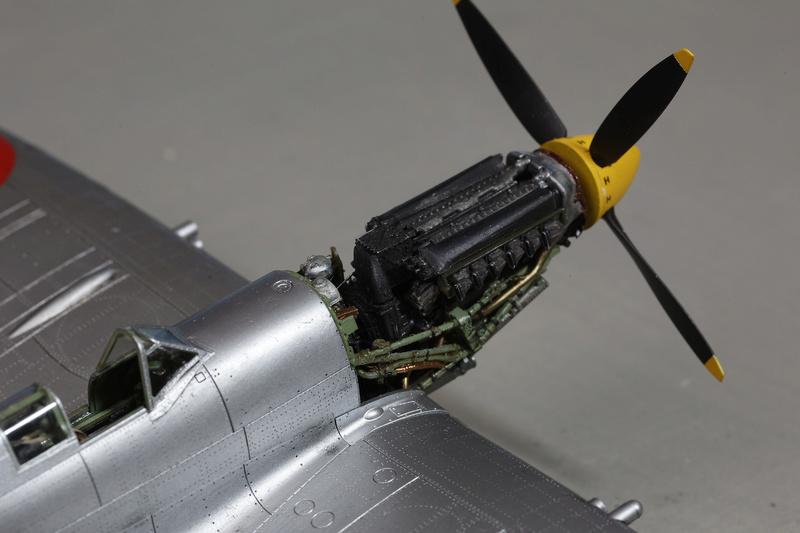 Spitfire MK IXc 1/48 Eduard ref 8281 _ano5310