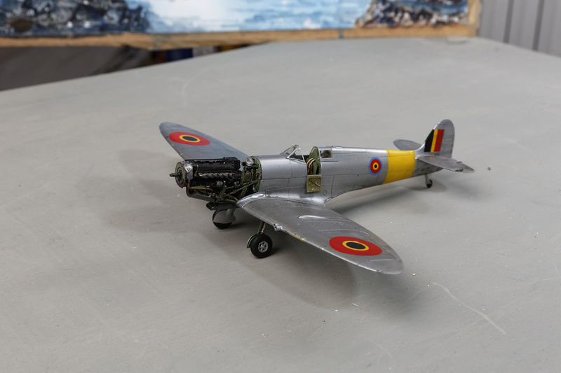 Spitfire MK IXc 1/48 Eduard ref 8281 _ano5312