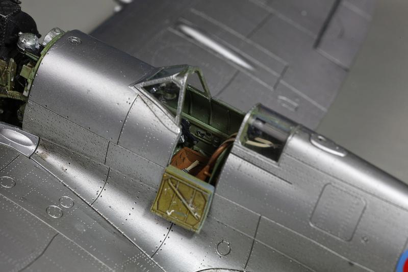 Spitfire MK IXc 1/48 Eduard ref 8281 _ano5313