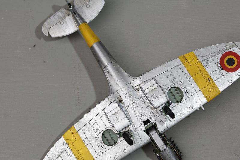Spitfire MK IXc 1/48 Eduard ref 8281 _ano5314