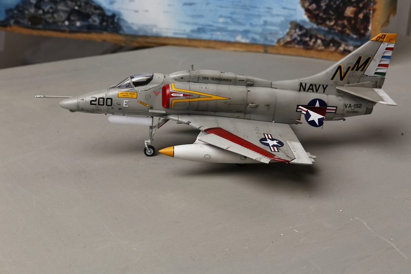 A-4 SKYHAWKS Douglas A4   Eduard ref 1197 _ano5316