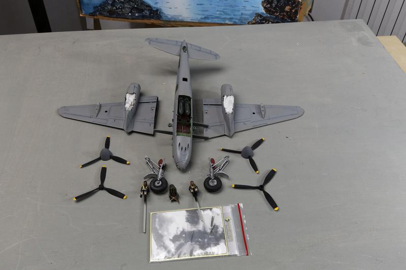 mosquito Fb MK VI De Havilland Tamiya 1/48 _ano5332