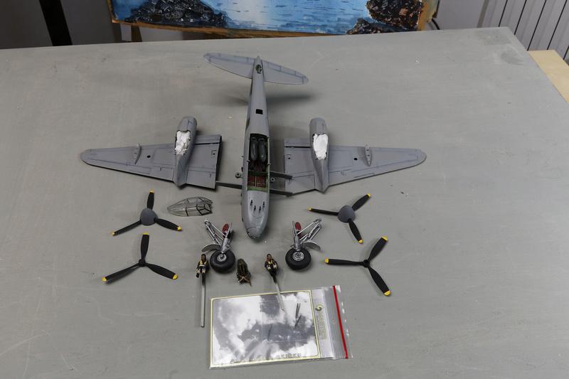 mosquito Fb MK VI De Havilland Tamiya 1/48 _ano5333