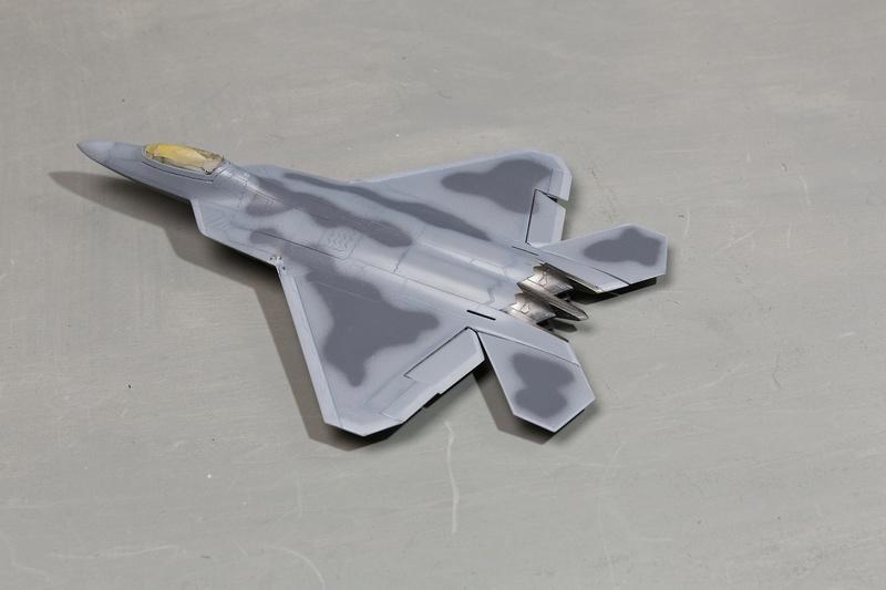 F-22 Raptor Italeri  1/72 _ano5435