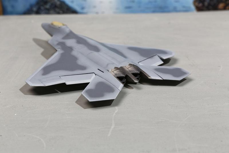 F-22 Raptor Italeri  1/72 _ano5436