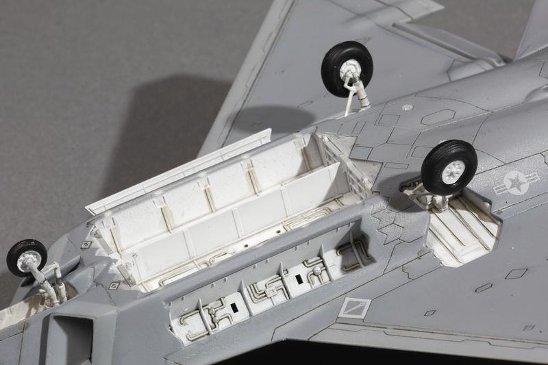 F-22 Raptor Italeri  1/72 _ano5518