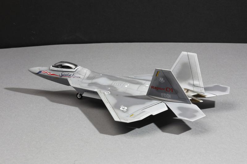 F-22 Raptor Italeri  1/72 _ano5519