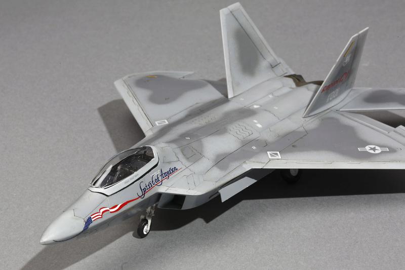 F-22 Raptor Italeri  1/72 _ano5521