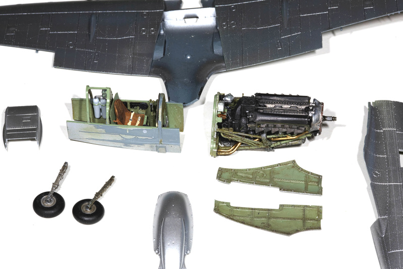 Spitfire MK IXc 1/48 Eduard ref 8281 Spit0011