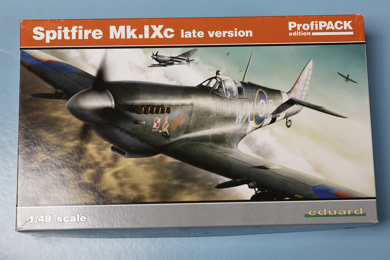 Spitfire MK IXc 1/48 Eduard ref 8281 Spit_510