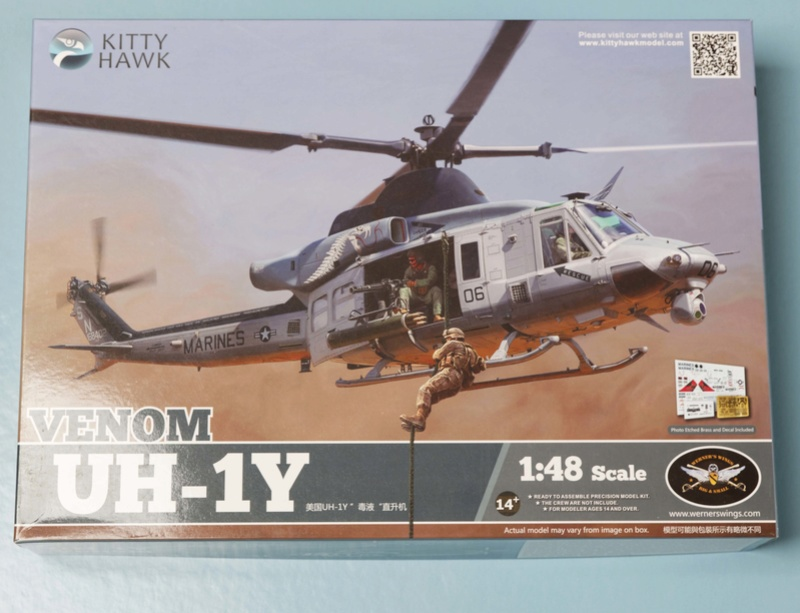 UH-1Y VENOM 1/48 Kitty Hawk  Uhy_5210