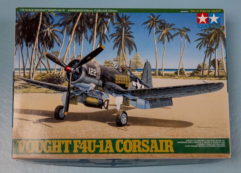 VOUGHT F4U-1A CORSAIR  tamiya 1/48 ref 61070 Vought10