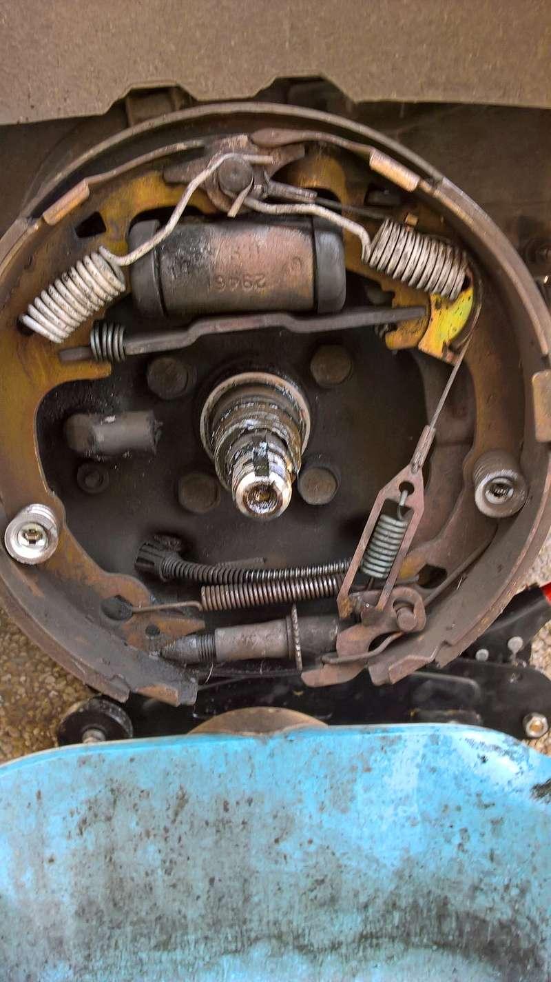 Remplacement garnitures de frein arrière Wp_20111