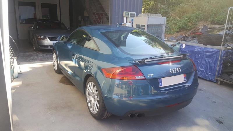 Photos de ma nouvelle TT MK2 blue petrol 17236810