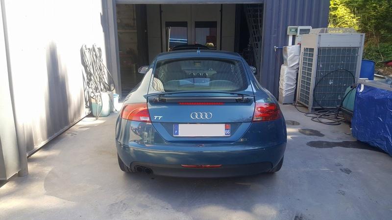 Photos de ma nouvelle TT MK2 blue petrol 17237010