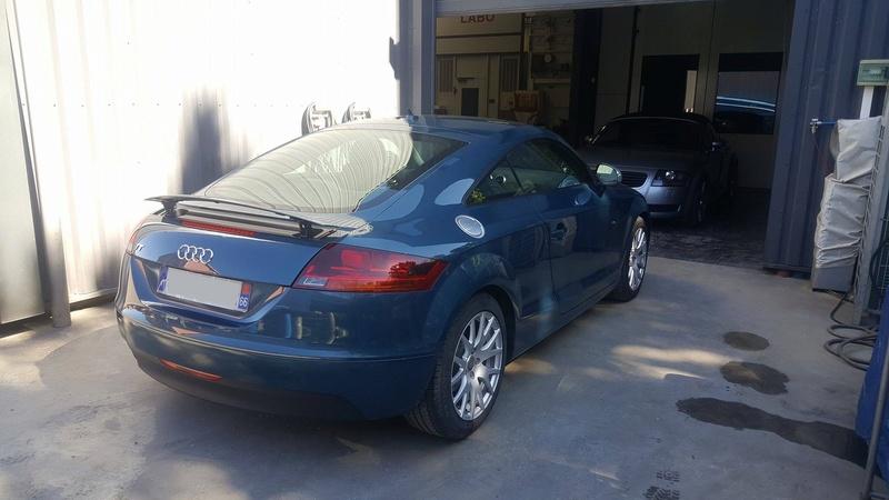 Photos de ma nouvelle TT MK2 blue petrol 17237110