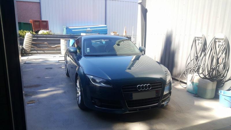 Photos de ma nouvelle TT MK2 blue petrol 17273410
