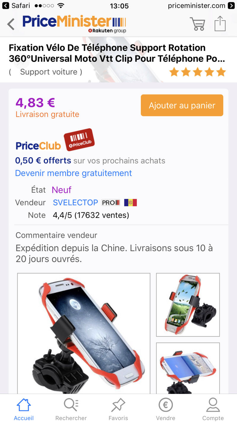 S957B GIVI support mobile - pas vraiment compatible iPhone 7 plus Img_5210