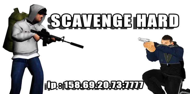 [BR] Scavenge And Survive HARD
