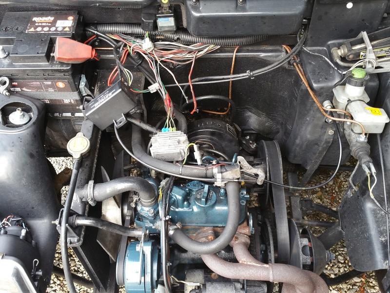 [RESOLU] Accélérateur bloqué au niveau de la pompe / problèmes système de charge 20170312