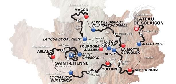 Cyclisme : le critérium du Dauphiné revisite l'Alpe d'Huez  Le_cri10