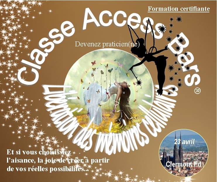 Classe Access Bars Formation certifiante le 23 avril  Access11