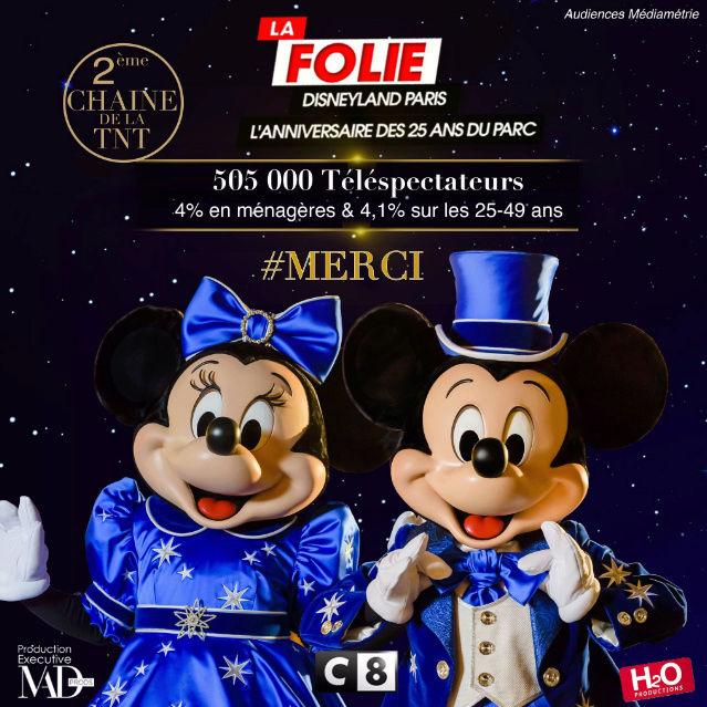 [C8] La Folie Disneyland Paris : L'Anniversaire des 25 ans du Parc (19 avril 2017) - Page 6 Captur11