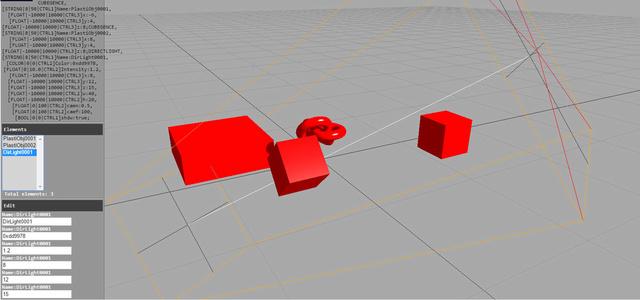 First screenshot of the 3D Editor Editor10