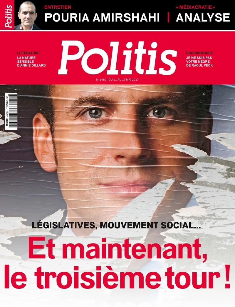 Politis : La gauche peut-elle imposer une cohabitation à Emmanuel Macron ? La_une10