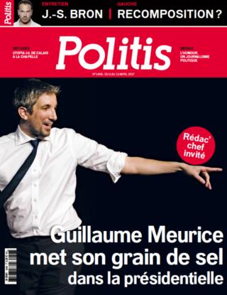 L'humoriste Guillaume Meurice Redac chef invité de Politis Politi10