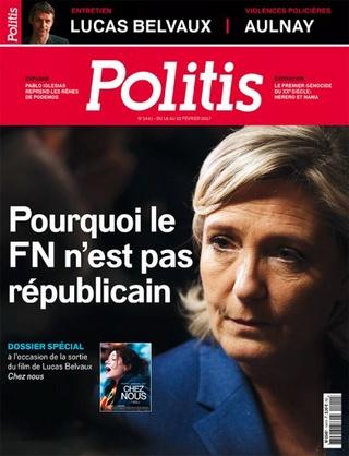 A la Une de Politis cette semaine : pourquoi le FN n'est pas républicain Une_po10