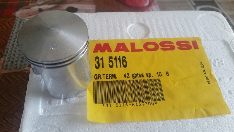 montage piston sur kit malossi 65cc 20170510