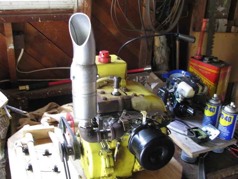 Tecumseh powered waterpump rig Img_2510
