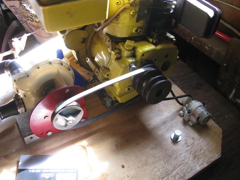 Tecumseh powered waterpump rig Img_2511