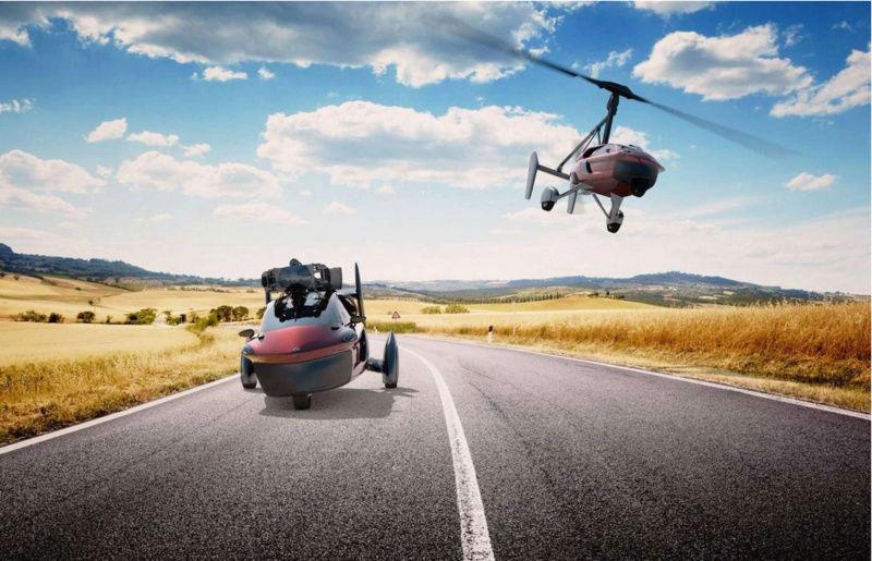 PAL-V Liberty, la première voiture volante, sera commercialisée en 2018 ! Par Marc Zaffagni Captur10