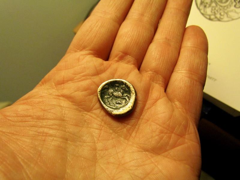 Monnaie macédoine cuivre Img_1315